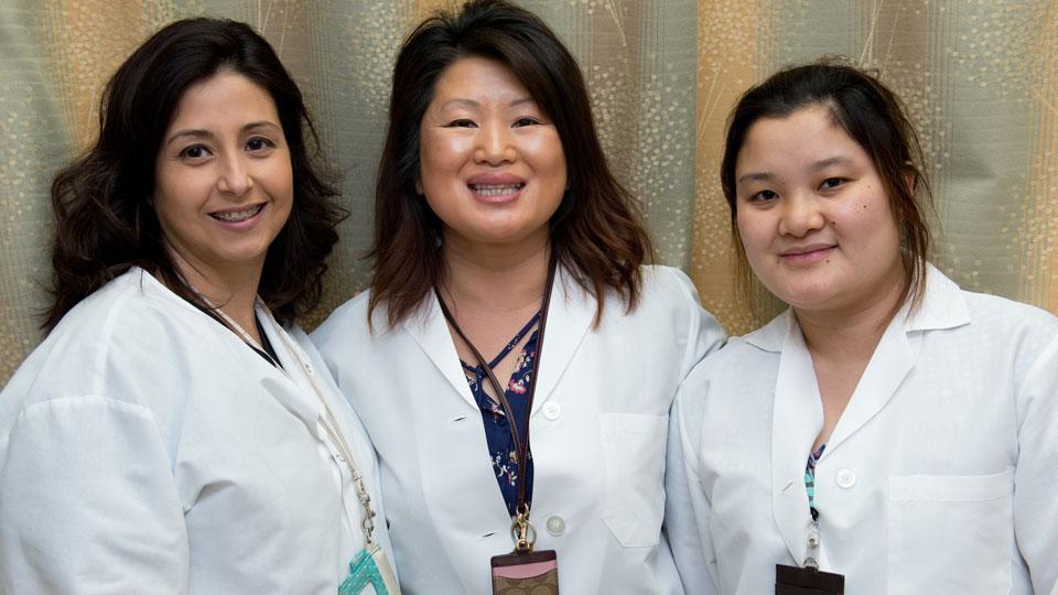 Female Doctors and Nurses