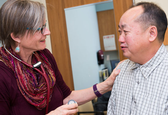 Doctor with Hmong Patient