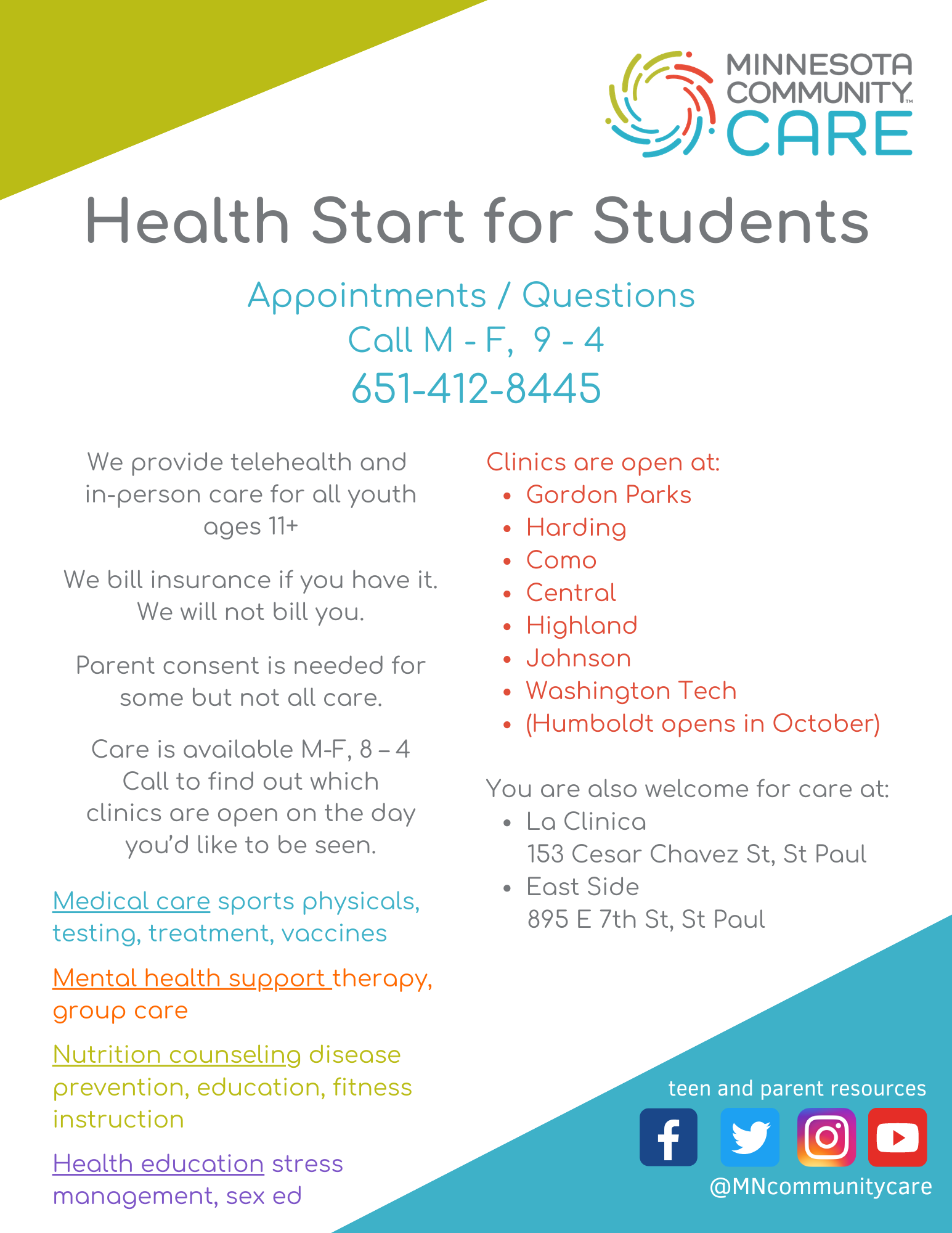 Health Start Back to School (1)