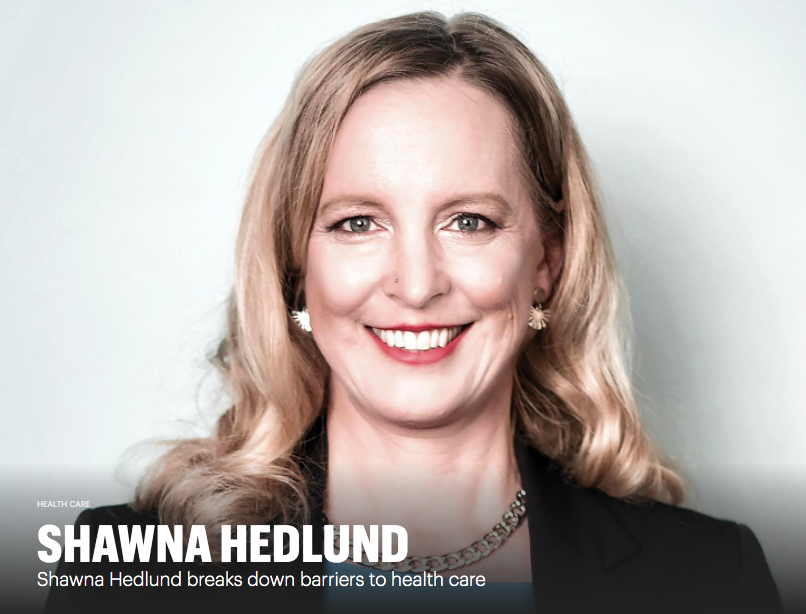 MSPBJ Article: Shawna Hedlund Breaks Down Barriers to Healthcare