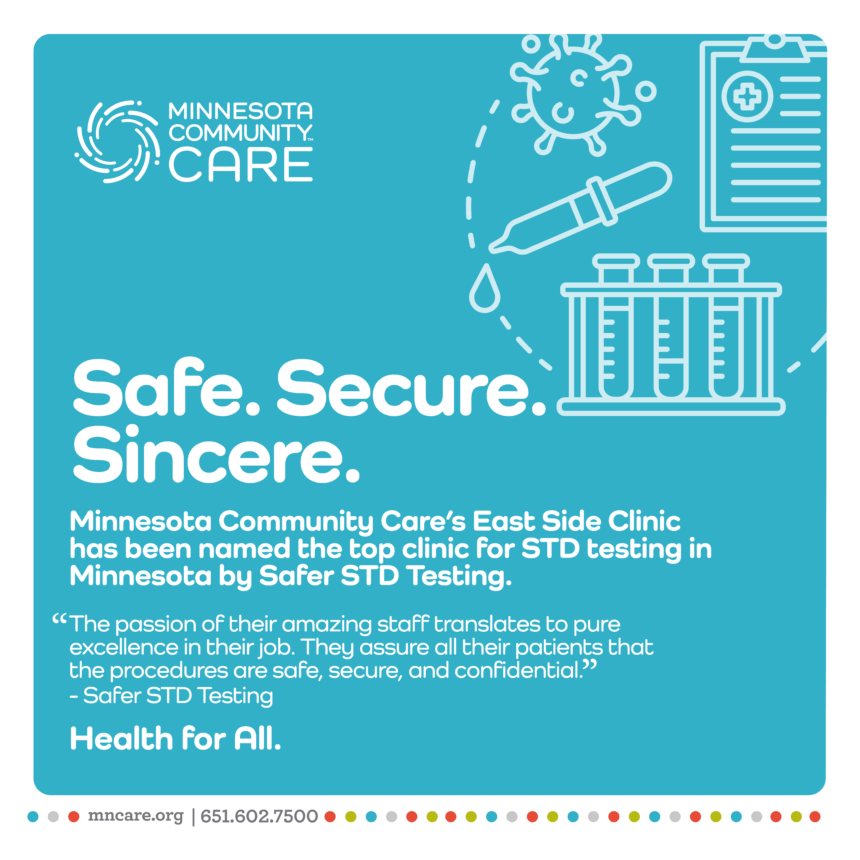 East Side Clinic Named Top Clinic for STD Testing in Minnesota